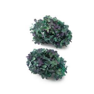 プリザーブドフラワー 花材 ソフトピラミッドアジサイ ヘッド ブルーパープル 小分け 約4g|solargift