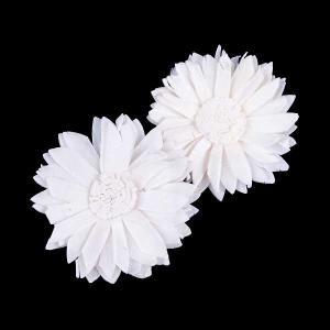 ソーラーマーガレット 小 白 小分け 2個入  造花 アーティシャル 花材 大地農園|solargift