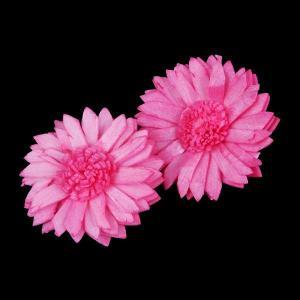 ソーラーマーガレット 小 フランボワーズ 小分け 2個入  造花 アーティシャル 花材 大地農園|solargift