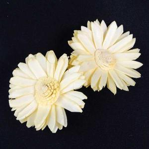 ソーラーマーガレット 小 イエロー 小分け 2個入  造花 アーティシャル 花材 大地農園|solargift