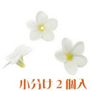 コモレア プルメリア ホワイト 小分け 2個入 アーティシャル 花材|solargift