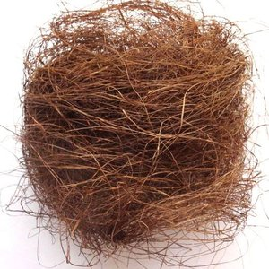 シサル麻 カフェブラウン 袋 約40g入 プリザーブドフラワー 材料|solargift
