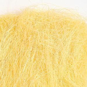 シサル麻 クリームイエロー 袋 約40g入 プリザーブドフラワー 花材 材料|solargift