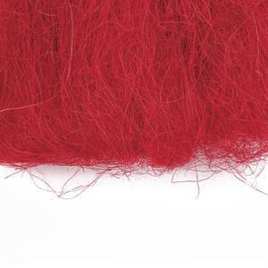 シサル麻 レッド 袋 約40g入 プリザーブドフラワー 材料|solargift