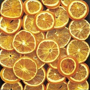 オレンジ ナチュラル 小分け 3枚入 フルーツ デコ 花材 材料 大地農園|solargift