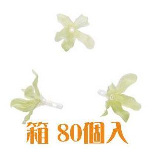 コモレア ブルースター ライトグリーン 箱 80個入 アーティシャル 花材|solargift