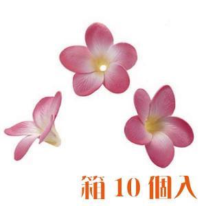 コモレア プルメリア ピンク 箱 10個入 アーティシャル 花材|solargift