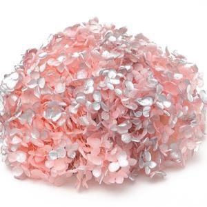 プリザーブドフラワー 花材 紫陽花 ソフトアジサイアナベルスプラッシュ ピンク 箱 約2.5輪|solargift