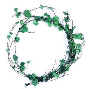 プリザーブドフラワー 材料 ハツユキ かずらミニ フレッシュグリーン 袋 約10本入 プリザーブドフラワー 花材 大地農園|solargift