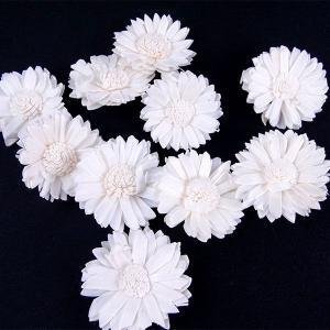 ソーラーマーガレット 小 白 袋 10個入  造花 アーティシャル 花材 大地農園|solargift