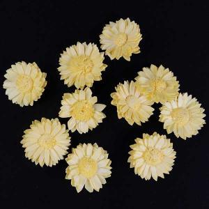 ソーラーマーガレット 小 イエロー 袋 10個入  造花 アーティシャル 花材 大地農園|solargift