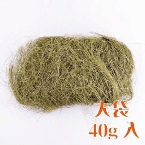 大地農園 花材 シサル 麻 ハーバルグリーン 40g 自然素材|solargift