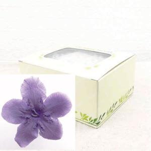 ニオイサクラ バイオレット 箱 12輪入 プリザーブドフラワー 材料 花材|solargift