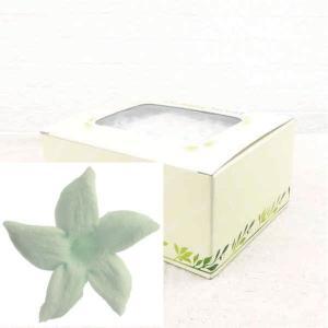 ジャスミン ライトブルー 箱 12輪入 プリザーブドフラワー 材料 花材 prehana world|solargift