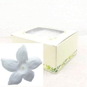 ジャスミン ホワイト 箱 12輪入 プリザーブドフラワー 材料 花材 prehana world|solargift