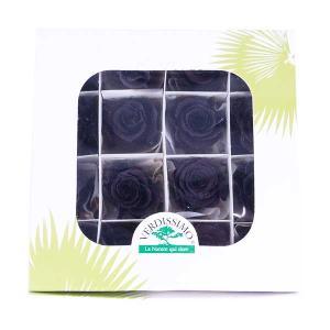プリンセスローズ ビターショコラ 箱 16輪入 プリザーブドフラワー 材料 花材|solargift