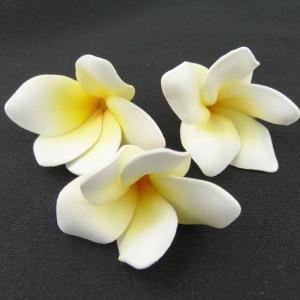 ミニプルメリア ソフトイエロー 小分け 3個入 アーティシャル 花材 asca|solargift