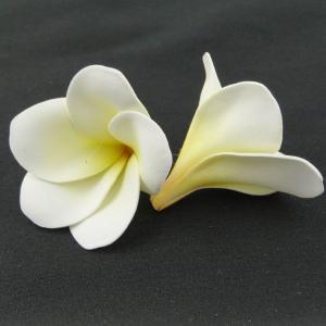 プルメリア ソフトイエロー 小分け 3個入 アーティシャル 花材 asca|solargift