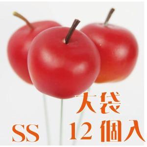 大袋 ブライトアップルピック SS #23 レッド 袋 12本入 りんご 東京堂|solargift