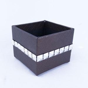 てづくり ペーパーボックス ブラウン te042 花器 かご te012|solargift