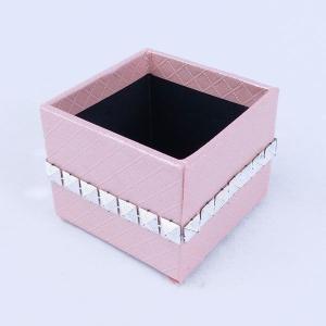 てづくり ペーパーボックス ピンク te043 花器 かご te012|solargift