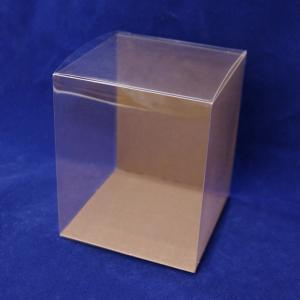 クリアケース クリアボックス フラットタイプSSS 1個 台紙付 プリザーブドフラワー ディスプレイ フラワー・|solargift