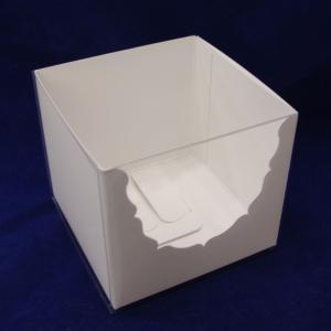 クリアケース スリーブ ローズアーチ 各1枚 セット プリザーブドフラワー ボックス|solargift