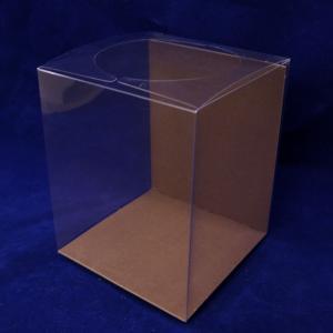 クリアケース クリアボックス MS 1個 台紙付|solargift