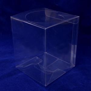 10個セット クリアケース クリアボックス SS 10.5×10.5×H13cm|solargift