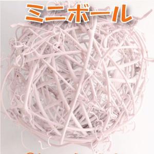 サンキライ ミニボール 10cm ピンク 小分け 1個入 デコ 73845|solargift
