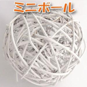 サンキライ ミニボール 10cm ホワイト 小分け 1個入 デコ 73847|solargift
