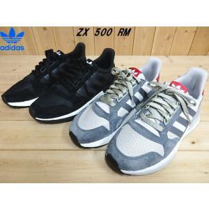 adidas Originals ZX 500 RM CBLACK(B42227)・GREFOU(B42204)アディダス オリジナルス メンズスニーカー|solehunter