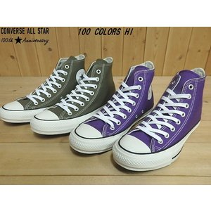 ▼商品名♪CONVERSE ALL STAR 100 COLORS HI▼OLIVE(1SC149)...