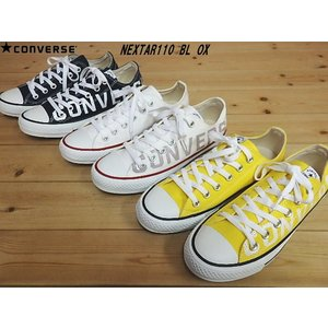 ▼商品名♪CONVERSE NEXTAR110 BL OX▼NAVY・WHITE・YELLOW コン...