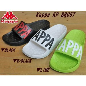 Kappa KP BRU57 セルビーレ BLACK(ブラック)・W/BLACK(ホワイト/ブラック)・LIME(ライム)カッパ kp bru57 セルビーレ(23cm-28c|solehunter
