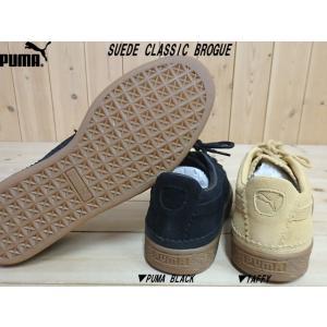 PUMA SUEDE CLASSIC BROGUE BLACK(366631-01)・TAFFY(366631-03)プーマ スエード クラシック ブローグ メンズ スニーカー|solehunter|02