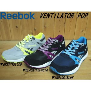 Reebok VENTILATOR POP GREY(M49323)・BLACK(M49263)・INDIGO(M49265)リーボック ベンチレーター ポップCLASSIC MEN'S|solehunter