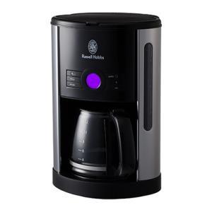 ラッセルホブス ヘリテージコーヒーメーカー 自動コーヒーメーカー ブラック 黒 Russel Hobbs|solemo