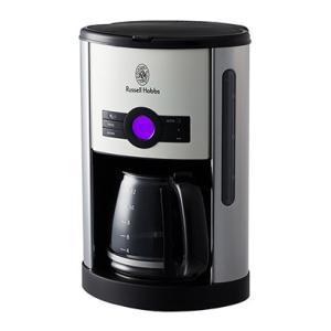 ラッセルホブス ヘリテージコーヒーメーカー 自動コーヒーメーカー ホワイト クリーム Russel Hobbs|solemo