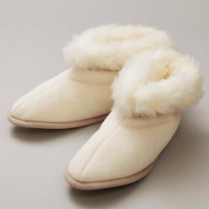 メリノン 羊毛室内履きM 防寒 ウール 丸洗い可能 Merinon スリッパ|solemo