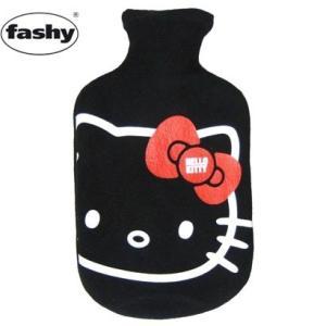 ファシー fashy ハローキティ フリーススタンダード 湯たんぽ ブラック 防寒対策|solemo