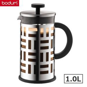 bodumボダム アイリーン フレンチプレス式コーヒーメーカー1.0L ステンレス シルバー EILEEN 珈琲器具|solemo