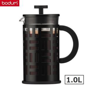 bodumボダム アイリーン フレンチプレス式コーヒーメーカー1.0L ブラック黒 EILEEN 珈琲器具|solemo
