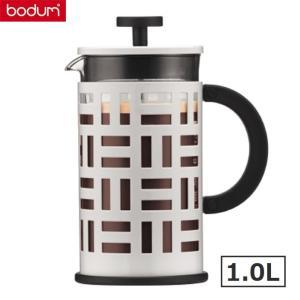 bodumボダム アイリーン フレンチプレス式コーヒーメーカー1.0L ホワイト白 EILEEN 珈琲器具|solemo