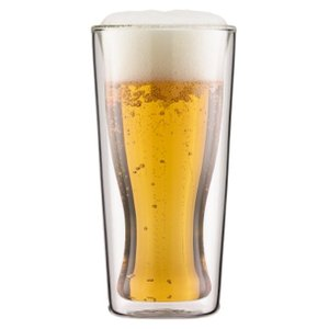 bodumボダム スカルダブルウォールグラス2個セット ビールグラス 二重構造 耐熱ガラス SKAL 新生活|solemo