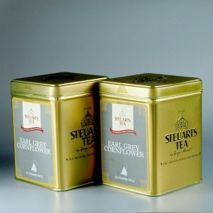 ジョージスチュアートティー アールグレイコーンフラワーギフトセット 紅茶 George Steuart Tea solemo