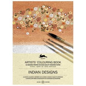 大人のぬりえ カラーリングブック Indian Designsインドのデザイン PEPIN(ぺピン)|solemo