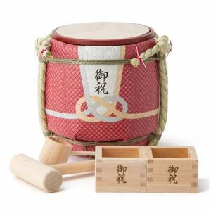 コモダル ミニ鏡開きセット ミニ酒樽 土産樽シリーズ 贈る心 KOMODARU|solemo