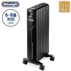 デロンギ マルチダイナミックヒーターMDH09-PB マットブラック 6~8畳 暖房器具 防寒対策 オイルヒーター 乾燥しにくい おしゃれ De'Longhi|solemo