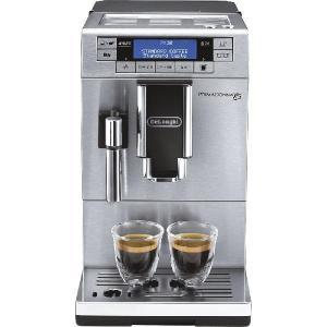 デロンギ プリマドンナXS コンパクト全自動エスプレッソマシン コーヒーメーカー メタリックシルバー De'Longhi ETAM36365MB|solemo